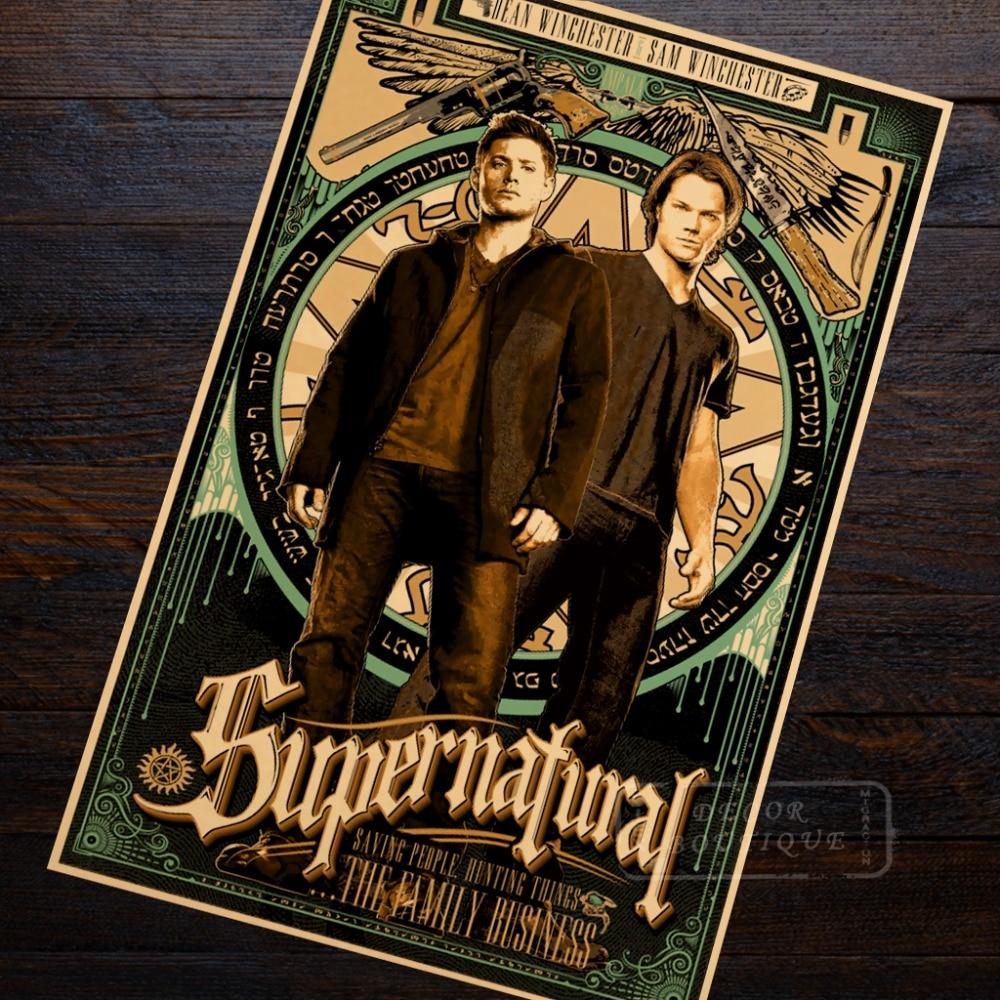 Print Home Decor Supernatural Poster Gift Wall Art