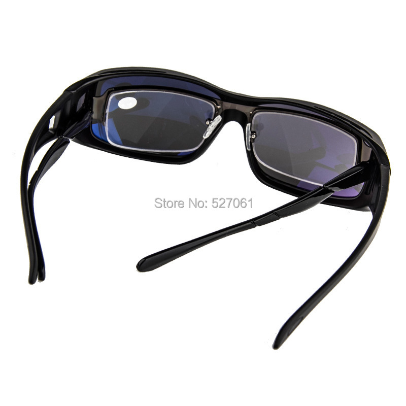 dbd9eb803eb Solar Shield Polarized Lens Fits Over Glasses Unisex UV400 Protection  Outdoor Wrap around Sunglasses Clip on Glasses Cool New!-in Sunglasses from  Apparel ...