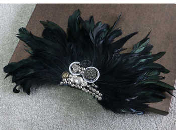 Wedding Bussiness Suits Banquet Brooch Black Feather Anchor Flower Corsage Clothing Accesory Boutonniere Clips Collar Brooch Pin