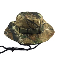 Jungle camouflage Tactical Airsoft Sniper Camouflage Boonie Hat Nepalese Cap Militares Army Mens Military Accessories Bucket Hat