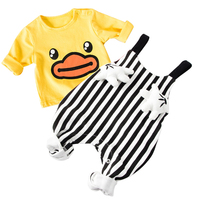 Baby Set Spring Baby Girl Clothes Cotton Baby Boy Clothing Set Roupas Bebe Infant Baby Jumpsuits