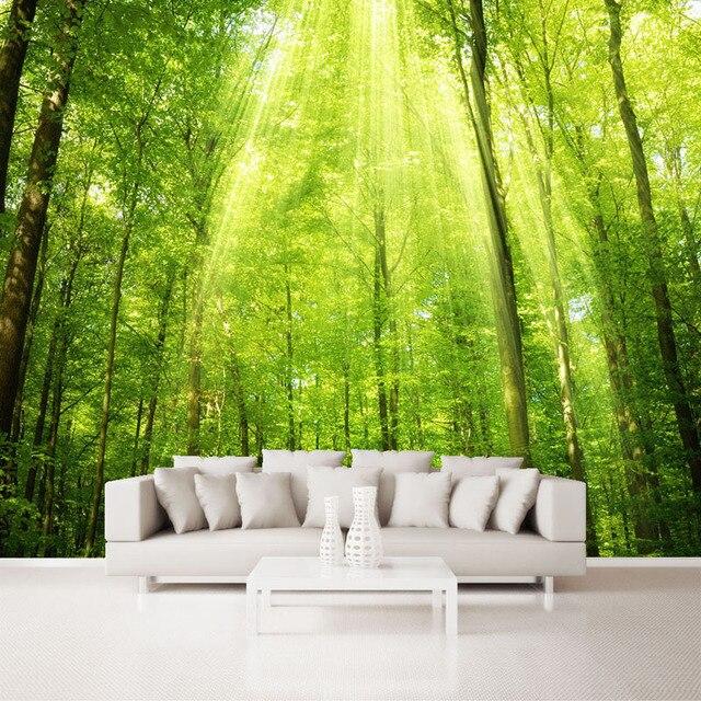3d Seamless Matisse Large Murals TV Backdrop Sunshine Forest Wallpaper  Wallpaper Bedroom Living Room Sofa