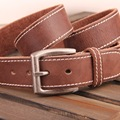 High Quality First Layer Belts For Men Genuine Leather Fashion Vintage Pin Buckle Cow Genuine Leather Cinto Masculino