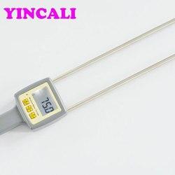 Szybka wysyłka papieru do bel miernik wilgotności TK100M wyświetlacz 4 cyfrowy LCD pyłu papierowego analizator wilgotności makulatury z papieru higrometr