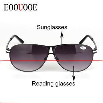 0eb7d48cf7 Gafas de sol y gafas de lectura bifocales para hombre nuevas EOOUOOE ...