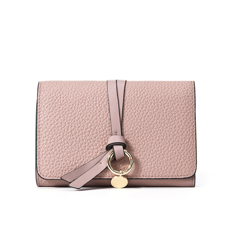 Purse Women Luxury Brand Small Wallets Cow Genuine Leather Wallet Short Ladies Designer High Quality Cute Girls Pink Purses Gift high quality leather cute women s wallets coin purse leather short women leather wallets girls best gift free shipping