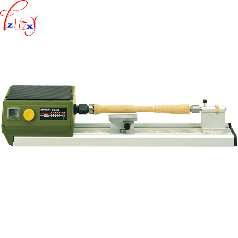 DIY mini woodworking grinding lathe DB-250 household use desktop woodworking lathe machine wood carving lathe 220V 100W цена