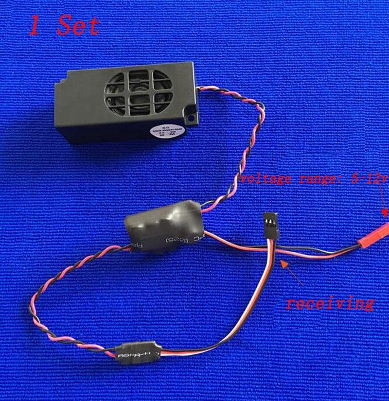 1 Set Rc Dampf Pfeife Einheit 70x22x28 Mm Marine Pfeifen Micro Trompete Für Simulierte Navigation Boot Modell Diy Ersatzteile