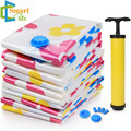 11 pieces/set High Quality Easy Reusable Vacuum Storage Bag Vacuum Compressed Bag for Heavy Winter Clothes Fast Shipping