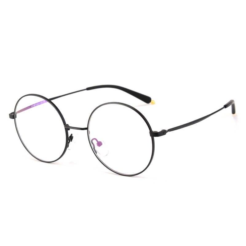 8c51daedc6f ... thin round glasses eyeware vintage big round frames gold eyeglass frames  for men woman myopia astigmatism ...