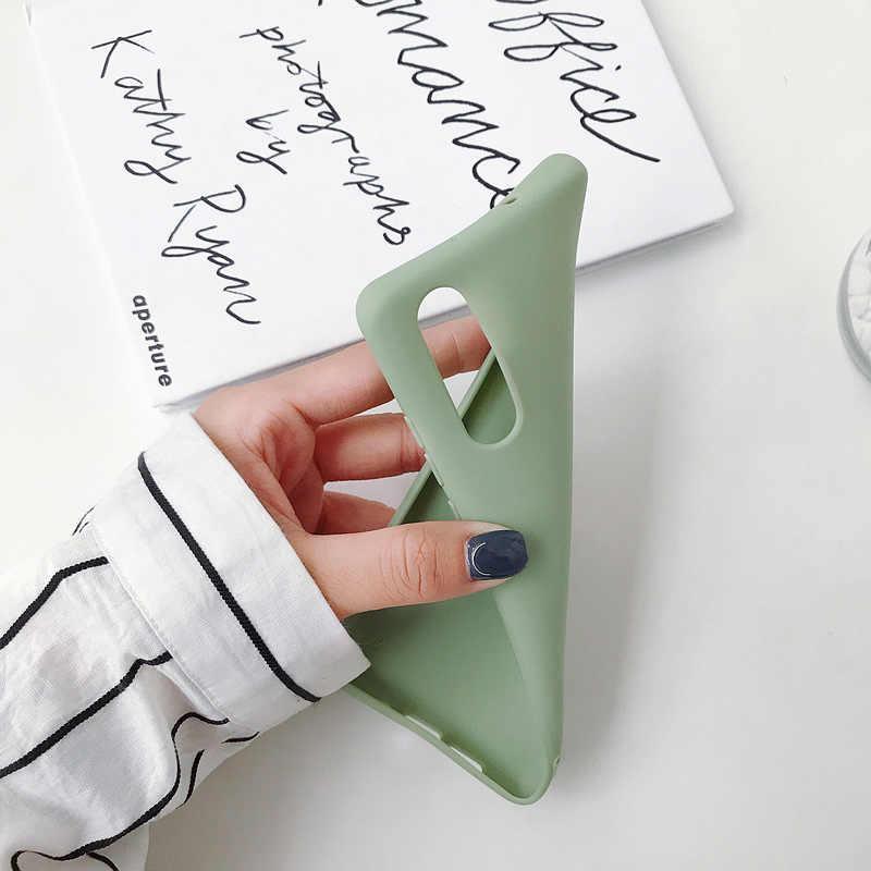 SoCouple Candy Farbe Weichen Silikon Telefon Fall Für iphone X XS Max XR 11 Pro Max Fall Für iphone 7 8 6 6s Plus Feste Farbe Abdeckung
