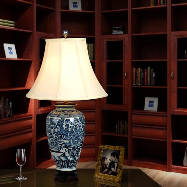 Good Chinesische Schlafzimmer Kunst #10: Vintage Chinesischen Schlafzimmer Wohnzimmer Hochzeit Tischlampe Jingdezhen  Porzellan Keramik Tischlampe Kunst Chinesische Tischlampe
