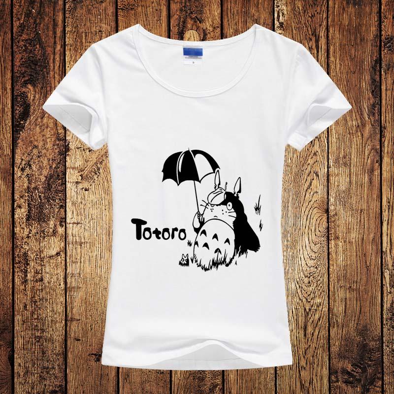 Tonari no Totoro Girl Women Tshirt Japanese Comic My ...