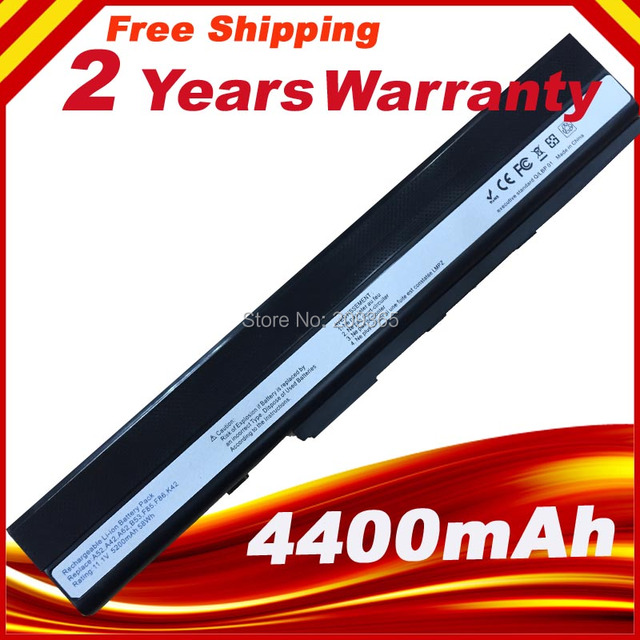 Battery Pack for Asus A42  K42  A52 K52 X52 A31-K52 A32-K52 K42F K42JB K42JK K42JR K42JV K52f