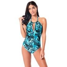 Zhuohe Tropical Swimsuit Women 2019 Swimwear Monokini Maillot One Piece Swimming Suit Costume Bathing Suit Swim Suit Plus Size