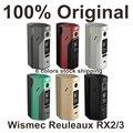 Cigarro eletrônico wismec reuleaux rx2/3 tc 150 w/200 w caixa mod vape atualização RX2 3 TC RX23 Temp Control Box Mod Mod VS RX200S
