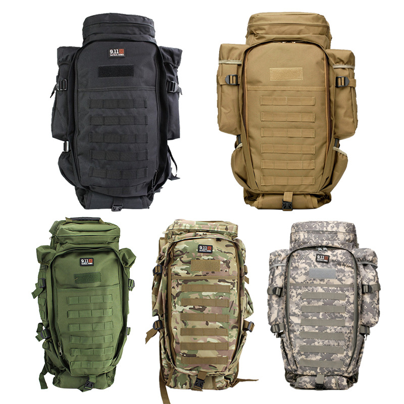 Military Tactical Assault Backpack Molle Army Bag Rucksack Assault Backpack for Fishing Outdoor Camping Hiking Bag 90l army tactical bag large capacity outdoor hiking backpack military pack camouflage camping assault rucksack