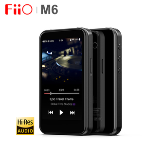 Image 1 - FiiO M6 Hi Res Bluetooth HiFi Music Portable MP3 Player USB DAC ES9018Q2C Based Android with aptX HD LDAC WiFi Air Play DSD