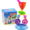 Respetuoso del medio ambiente 3c juguetes de baño yakuchinone playa de camiones cisterna de reloj de arena watertruck niño de natación juguetes juguetes de baño