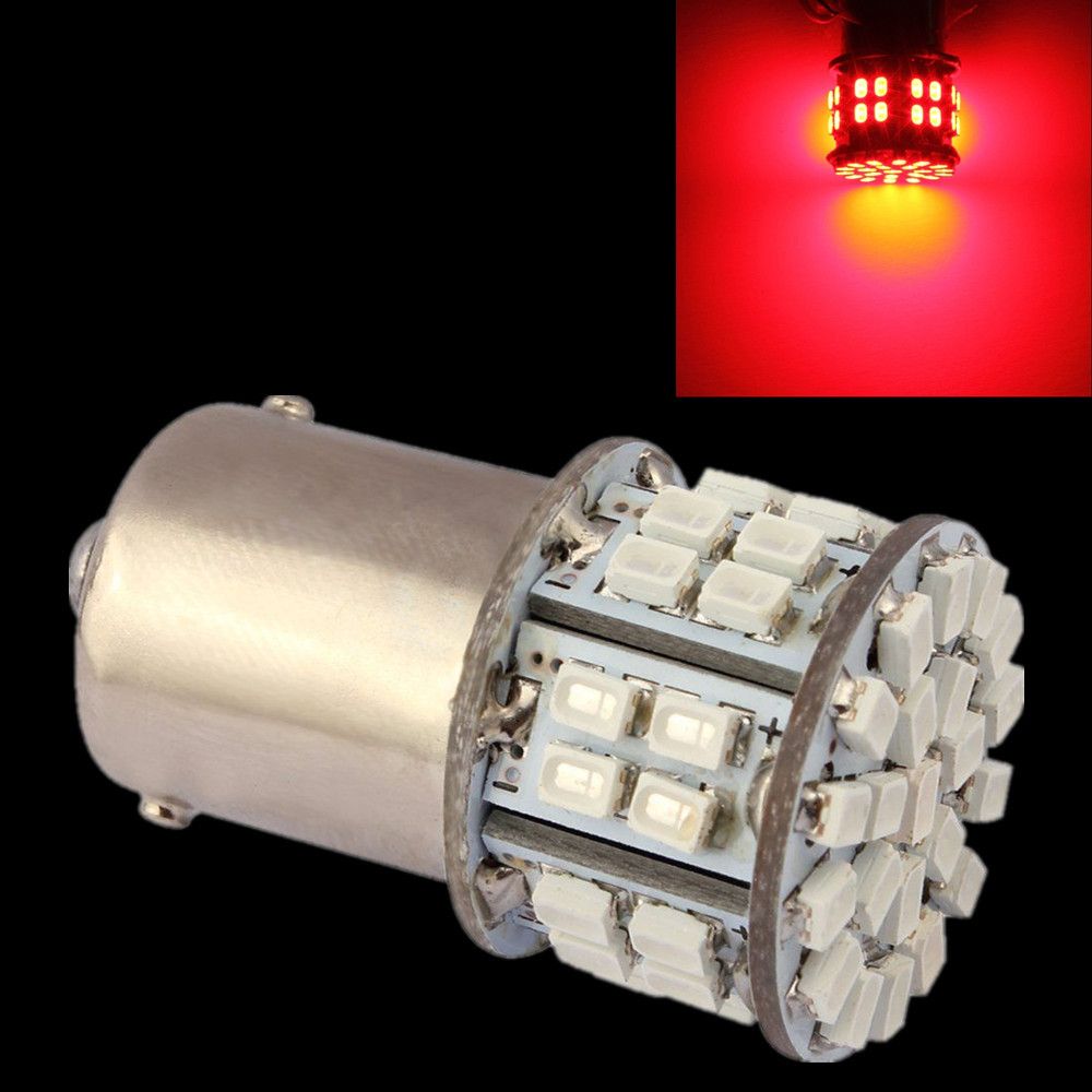 CYAN SOIL BAY 1X DC 12V Ba15s 1156 P21W Pure Red Car RV Turn Signal Light Backup Bright 50 SMD LED Brake Bulb Tail Lamp