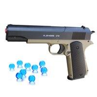 Outdoor Toys Plastic Pistol M1911 Orbeez Gun Soft Bullet Water Crystal Air Airgun Gel Balls Beads Sniper Boy Toys Birthday Gifts