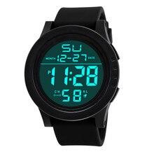 Hommes de montre Relogio masculino robe Horloge Design De Mode Noir En Acier Inoxydable Bande Cadran Rond Quartz Montre-Bracelet Hommes Cadeau XL50