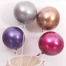 metal bobo balloon 5pcs/lot 22 inch thick ballons birthday party decorations adult baloons wedding supplies kids toys(China)