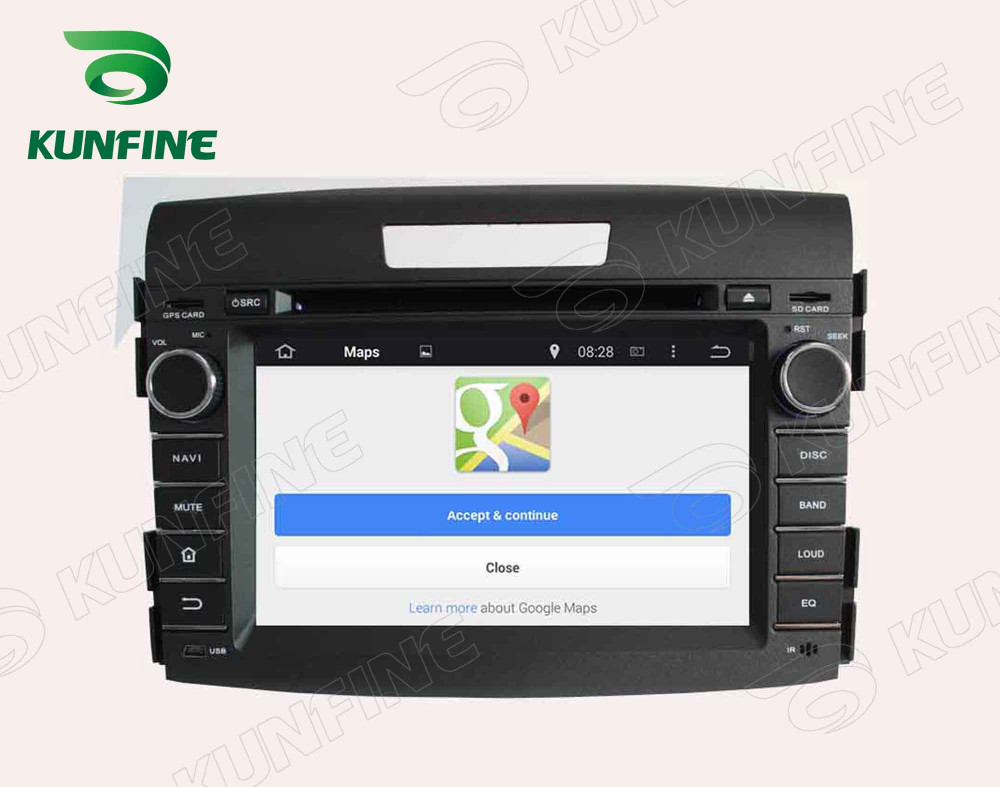 Car dvd GPS Navigation player for CRV 2012 7 inch C
