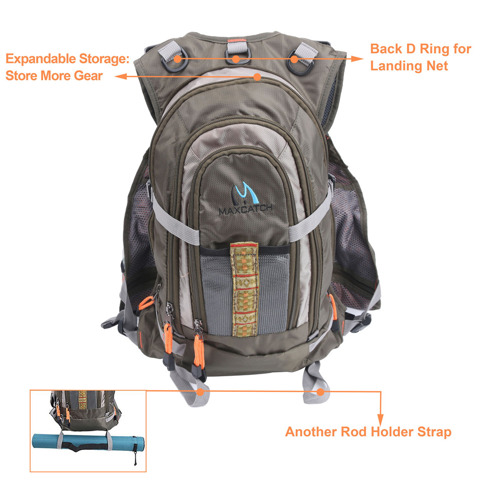 Jacket Backpack Aliexpresscom Buy Maximumcatch Fly Fishing Vest Backpack And