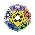Nueva Marca MF8 Void Pentultimate Unstickered Cubo Mágico Puzzle Aprendizaje Educación Juguetes Para Niños Juguetes Especiales