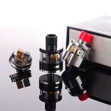 บุหรี่อิเล็กทรอนิกส์เครื่องฉีดน้ำRebuildable RDAหยดถังกระทิง-Bเครื่องฉีดน้ำหยดถังแก้วสำหรับTopbox Cubisสมัย