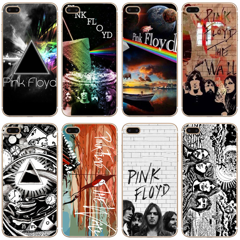 G212 Pink Floyd Transparent Hard Thin Case Cover For Apple iPhone 4 4S 5 5S SE 5C 6 6S 7 Plus