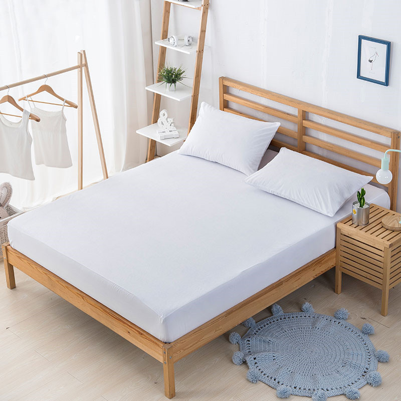 Waterproof Mattress Covers Cotton Breathable Anti Dust Mite mattress protector Elastic housse matelas Four Seasons 180*200cm