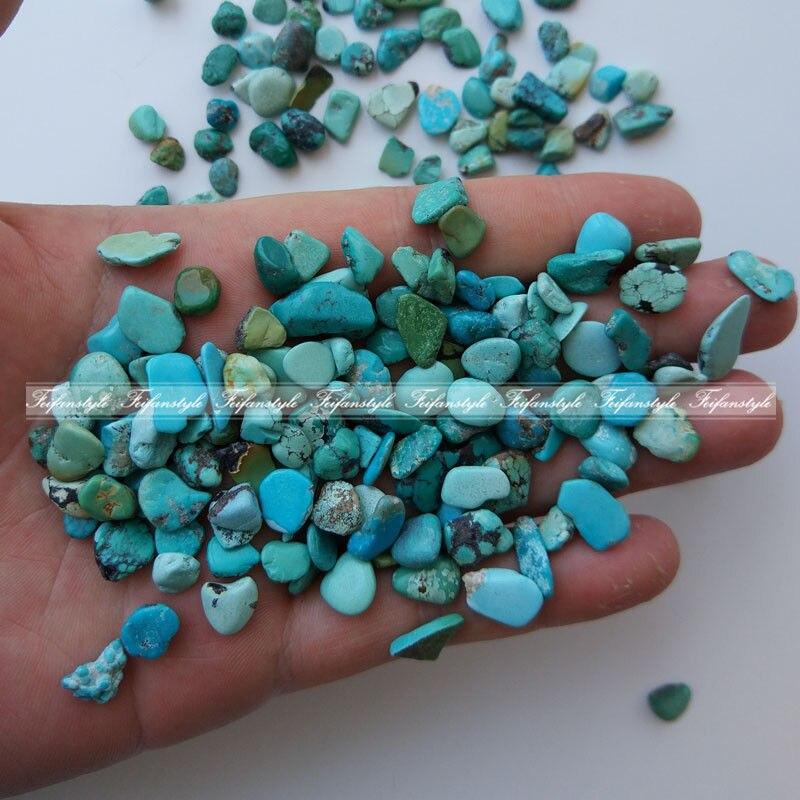 100g naturel bleu Turquoise cristal pierre brute pierre minérale spécimen C478 pierres naturelles et minéraux