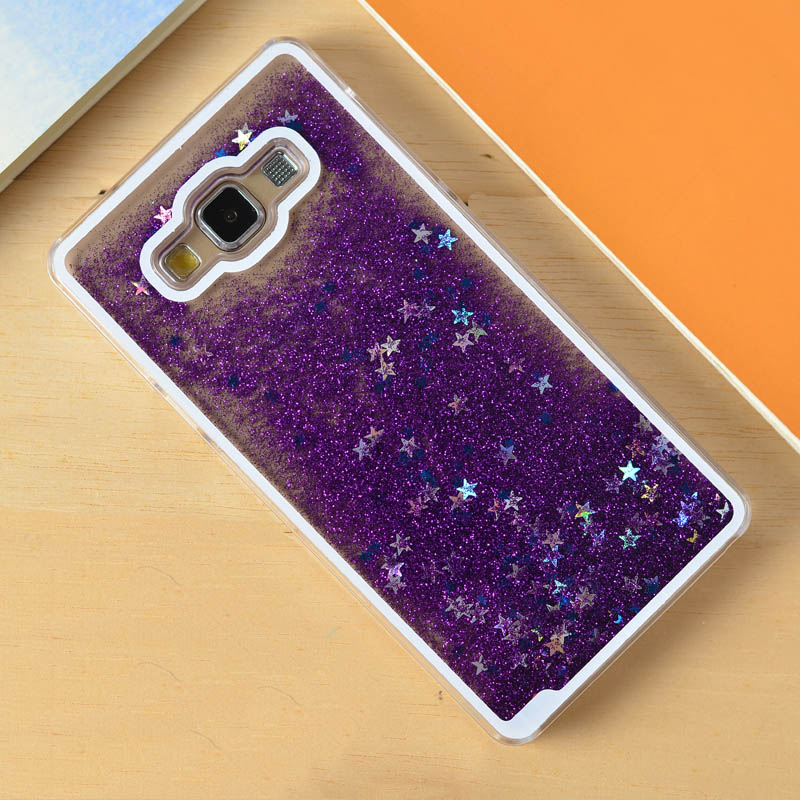 detailed look 6a382 1370d US $5.29 |Dynamic Liquid Glitter Paillette Quicksand Star Cover Phone Case  For Samsung Galaxy Grand Prime G530 Core Prime G360 Core 2 G355-in Fitted  ...