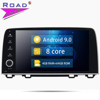 "Car Radio 9"" Android 9.0 Car Multiemdia DVD Player For Honda CRV 2017 Stereo GPS Navigation Magnitola 2Din Octa Core Autoradio"