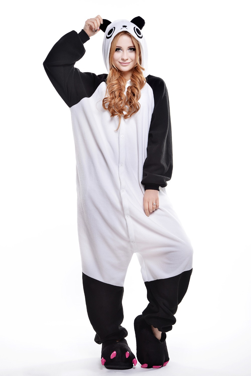 Aliexpress.com : Buy Panda Costume/ Onesie/ Plus Size Halloween ...