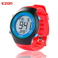 Free shipping EZON outdoor sports electronic watches for 24 hours indicating alarm multifunction Men's Blue Digital Wristwatches