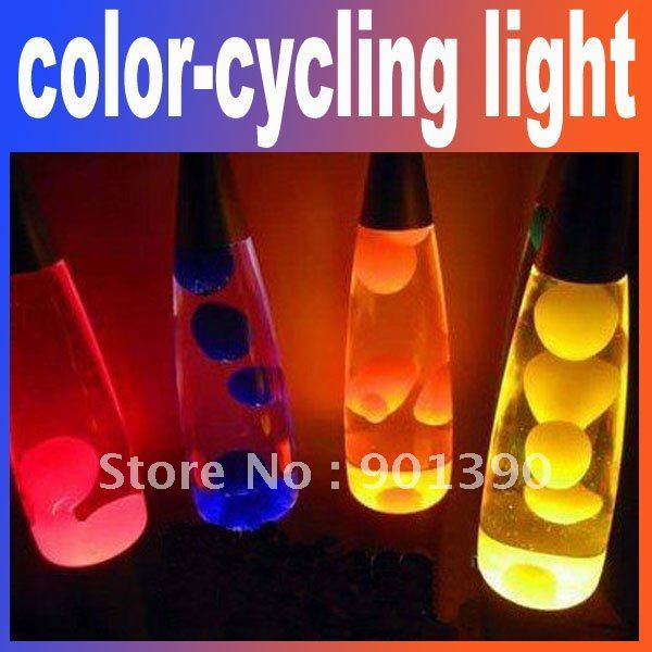 Free shipping 1pcs/lot 41CM Illuminant lamp lava lamps lava light color-cycling light for home decoration&Bar Restaurants