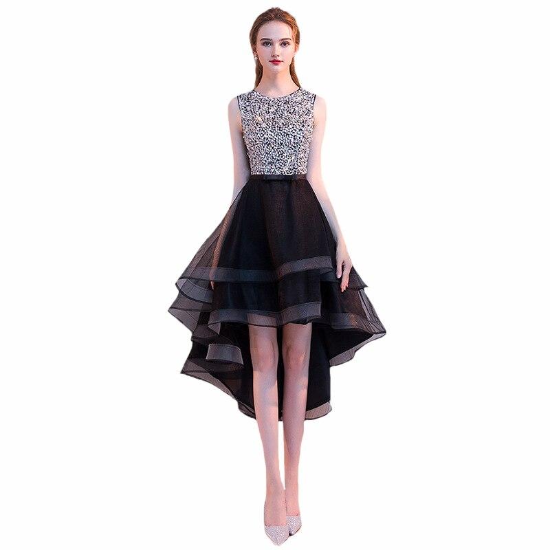 Customized   Bridesmaid     Dress   Elegant Short Lady Prom Gowns Sequins Formal Wedding Guest   Dresses   Robe Demoiselle D'honneur Fille