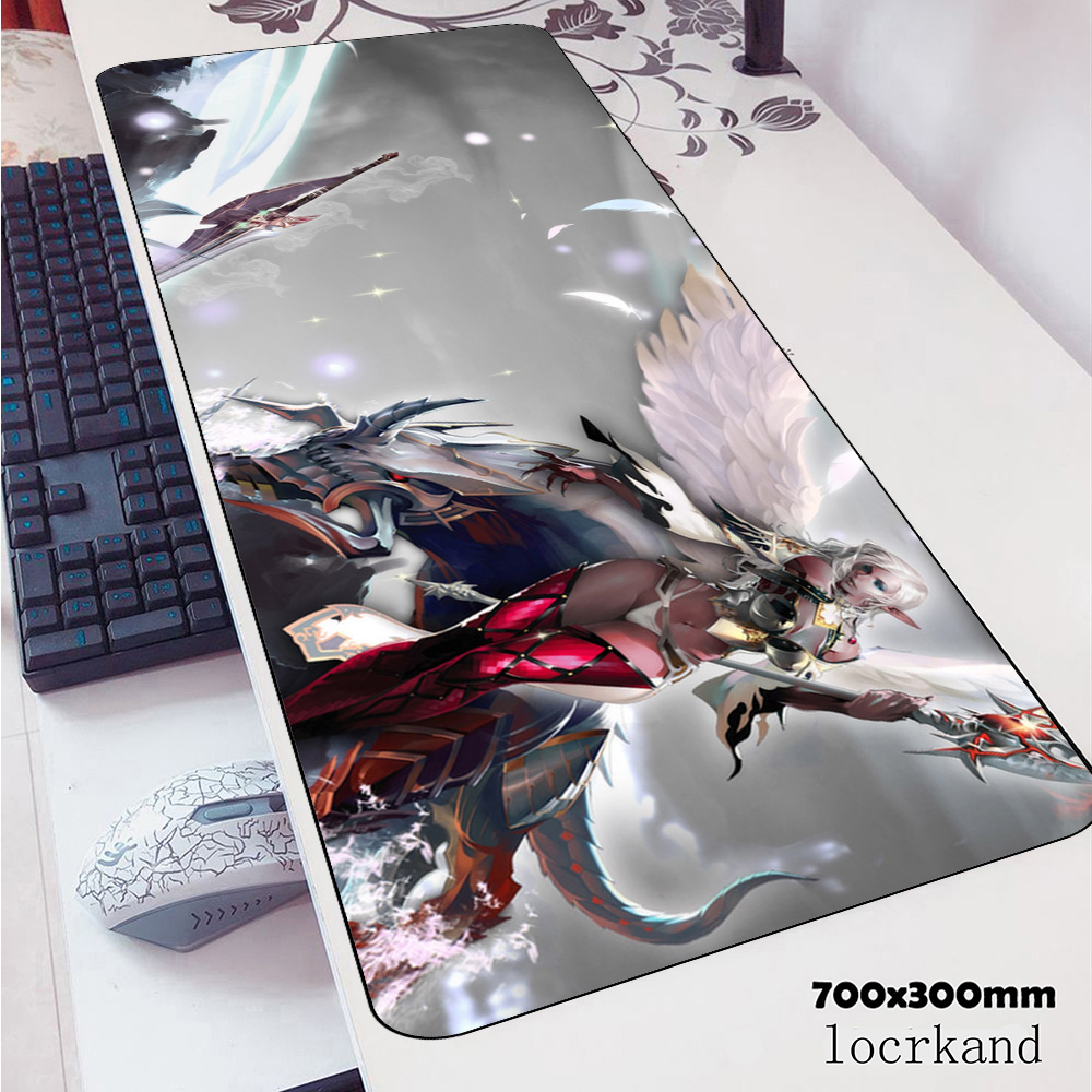 Lineage 2 Padmouse 70x30cm Gaming Mousepad Game Locrkand Mouse Pad Gamer Computer Desk High-end Mat Notbook Mousemat Pc