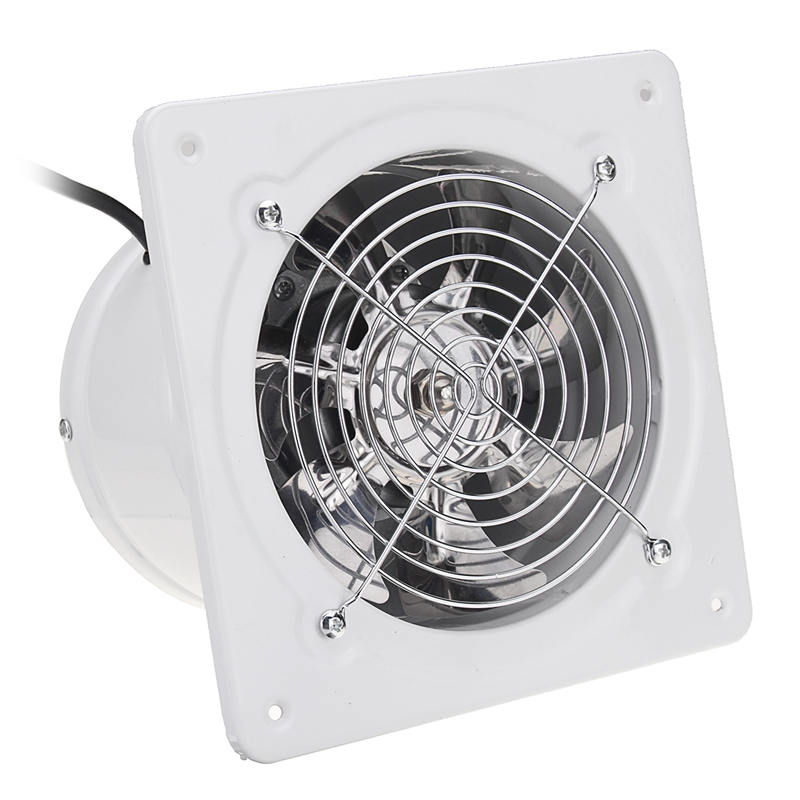 Household Appliances Useful Warmtoo 4 Inch 20w 220v White High Speed Exhaust Fan Kitchen Bathroom Duct Booster Fan Exhaust Blower Air Cleaning Cooling Vent Small Air Conditioning Appliances