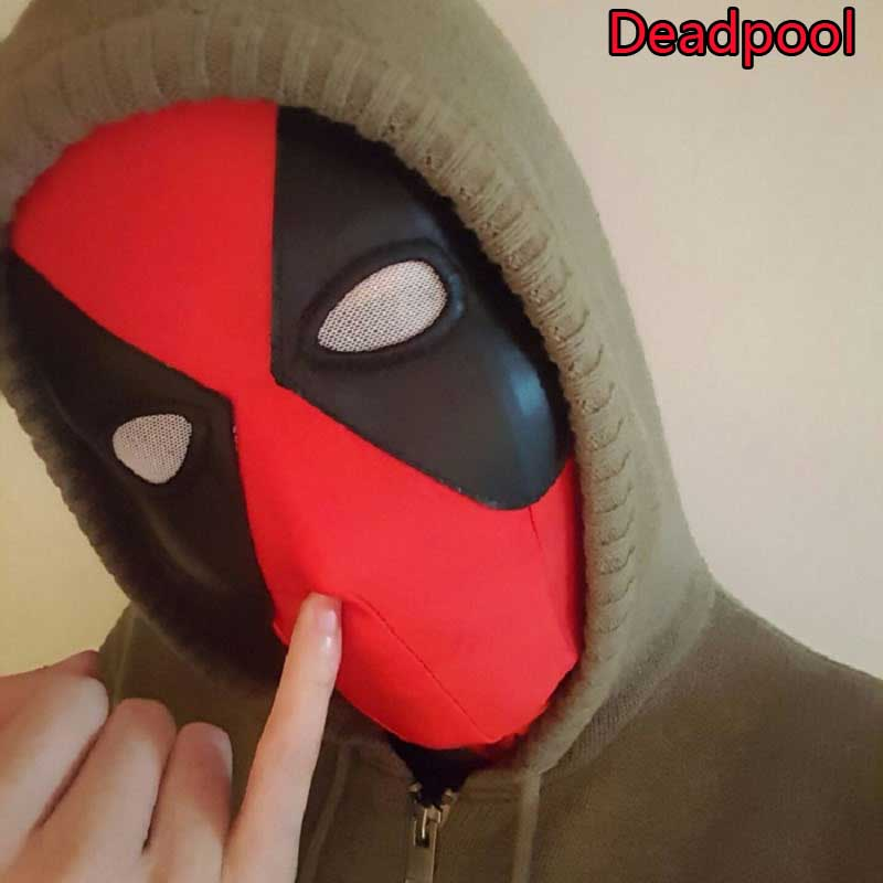 1 pc Marvel Hot Movie Deadpool 2 Mask Action Figure Toy Anime Deadpool Cosplay Masks Costume X-men Hats Neck Hood Full Face Toys new arrival xiaomi mi drone rc quadcopter spare parts 17 4v 5100mah battery for rc camera drone accessories
