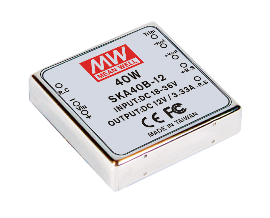 [PowerNex] MEAN WELL original SKA40A-15 15V 2.67A meanwell SKA40 15V 40W DC-DC Regulated Single Output Converter