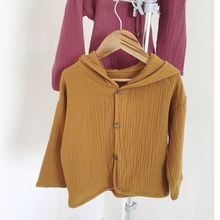 Cotton Full Sleeve Baby Coat Jacket