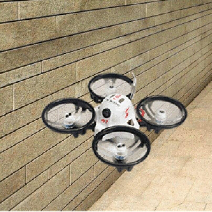 JMT ET100 BNF Brushless FPV RC Racing Drone 4 asse Mini Quadcopter con FM800/Frsky XM/Flysky ricevitore BUzzer-in Elicotteri radiocomandati da Giocattoli e hobby su  Gruppo 2