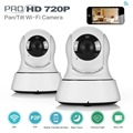 SANNCE 2x Wireless HD 1280x 720P Network IP Camera Home Security Wifi Phone APP
