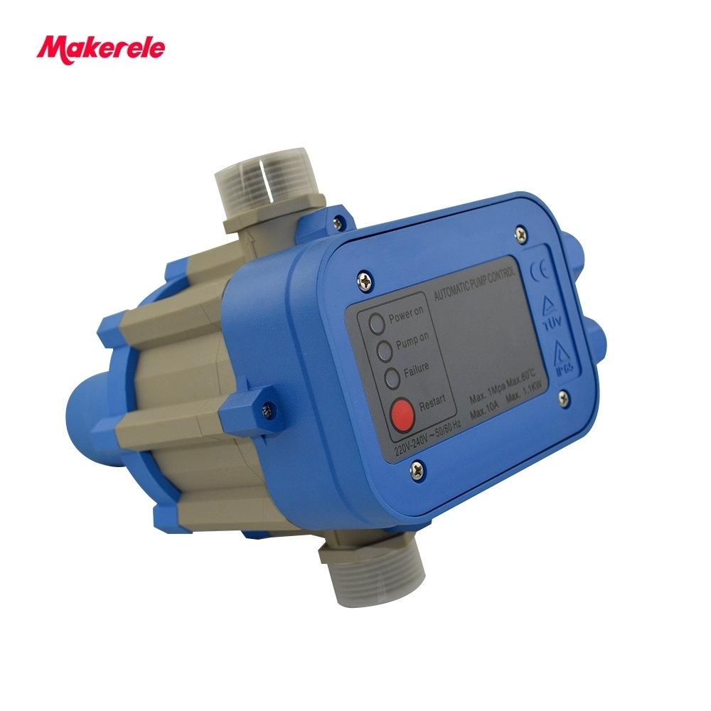 MK-WPPS04 Automatic Electric Electronic Switch Control Water Pump Pressure Controller Made In China Guaranteed High Quality mk wpps15 automatic water pump pressure controller electronic switch control water shortage protection with plug socket wires