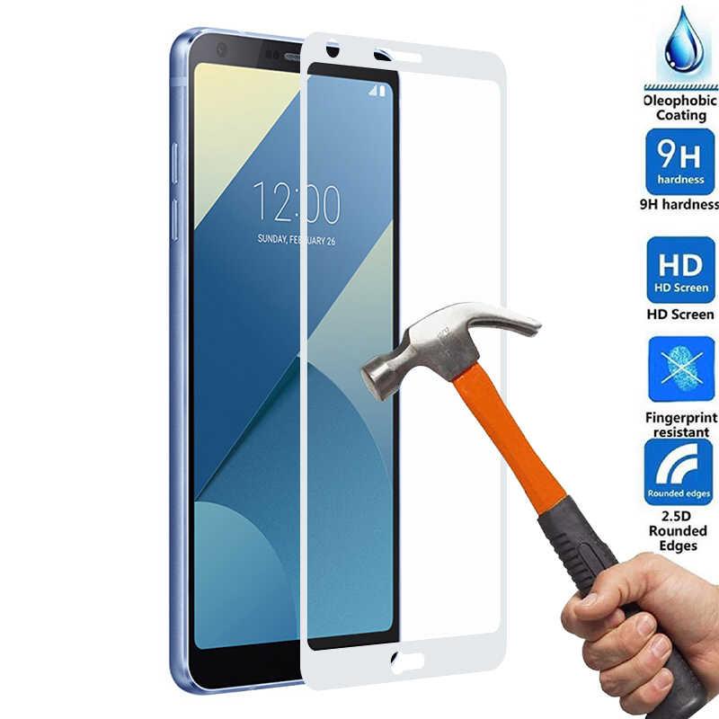 Gehard Glas Per LG G6 LG Q6 Anti-bussare Protezione Dello Schermo Della Copertura Completa Pellicola In Vetro Temperato Dello Schermo Della Pellicola Della Protezione GHMY