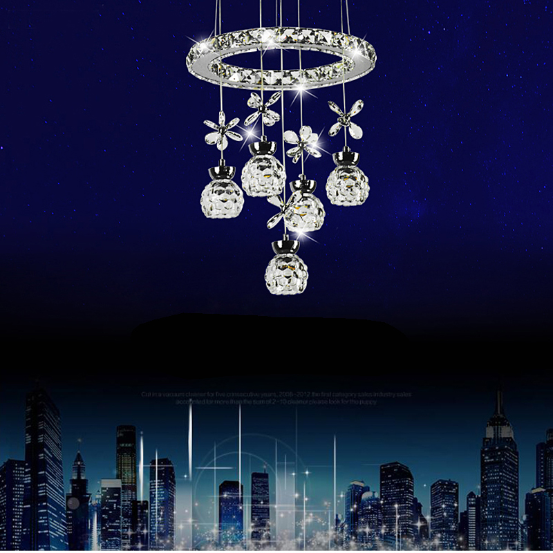 Postmodern fashion led living room lamp chandelier crystal lamp bedroom lamp staircase entrance hall bar table meal chandelier modern bedroom lamp art restaurant chandelier ring brass pendant lamp staircase entrance bar hotel room light